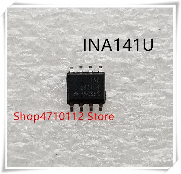 Nuevo 10 unids/lote INA141UA INA141U INA141 INA 141U SOP-8 IC