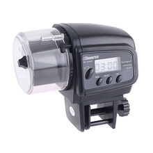 TFBC-Digital automatique nourriture de poisson   Conteneur Aquarium distributeur, minuterie