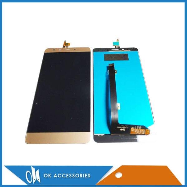 Pantalla LCD de Color negro dorado para Infinix Note 3 X601 con reemplazo de montaje de digitalizador de pantalla táctil 1 pieza por lote