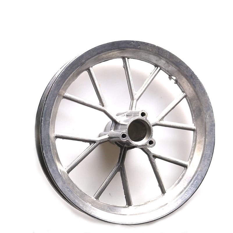 Compras gratis 12 pulgadas llanta de aluminio cubo de la rueda del neumático para bicicleta Scooter cubo de la rueda para el patinete recambio