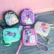 Lovely Cat Ear Itbag Backpacks Women Candy Color Clear School Bag Children Shoulder Bags Bookbags Teenage Girls Travel Bag Pack