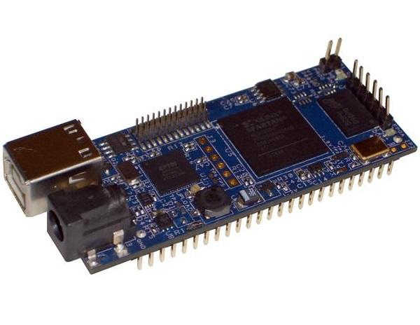 DLP-HS-FPGA-A USB FPGA MODULE Xilinx Spartan 3a Module NEW board development board learning board basys2 100 spartan 3e xilinx fpga