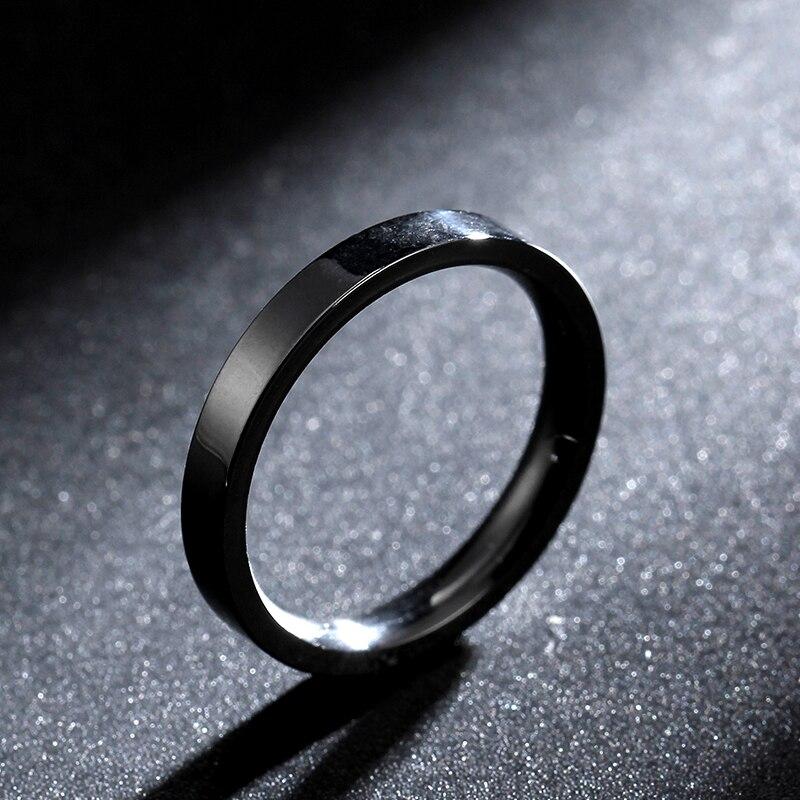Ультратонкое кольцо из титановой стали шириной 3 мм 316, кольцо из вольфрамовой стали для мужчин и женщин, прямые поставки с фабрики