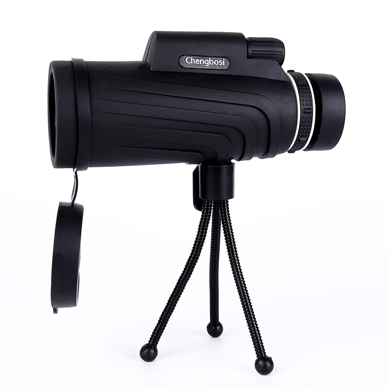 50x52 Zoom Monocular de gran aumento FMC Lente de Cristal HD telescopio Binocualrs para caza senderismo Camping