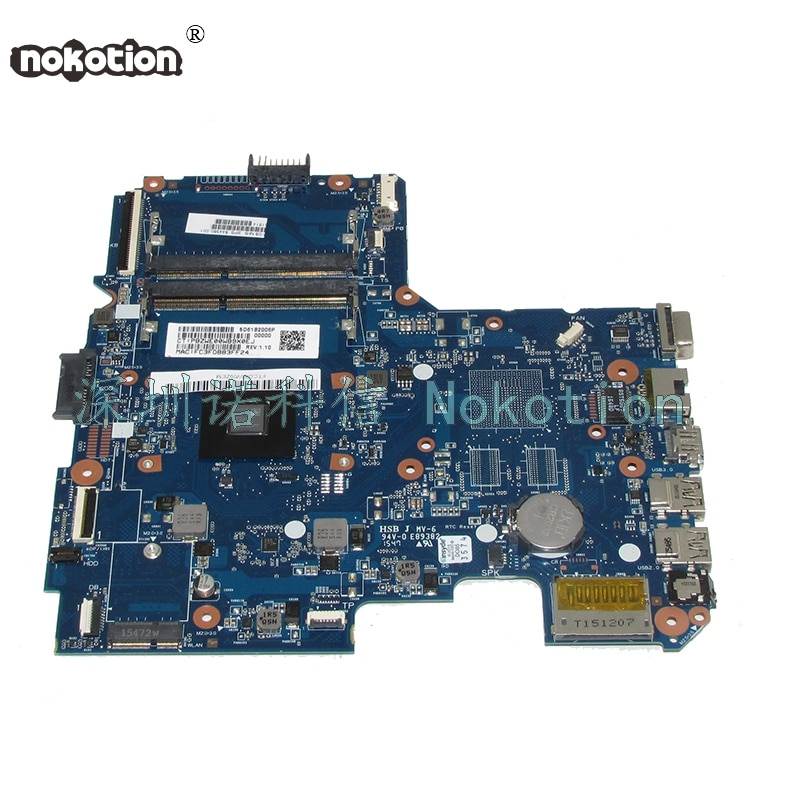 NOKOTION 844380-001 MENTOS10-6050A2731601-MB-A01 اللوحة الرئيسية لأجهزة الكمبيوتر المحمول HP 14-AF 14-af011au اللوحة مع وحدة المعالجة المركزية A8-7410 على متن الطائرة