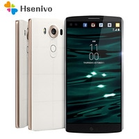 LG V10 Refurbished-Original Unlocked LG V10 H900 4G Android Phone Hexa Core 5.7'' 16.0MP 4GB RAM 64GB ROM 2560*1440 Smartphone