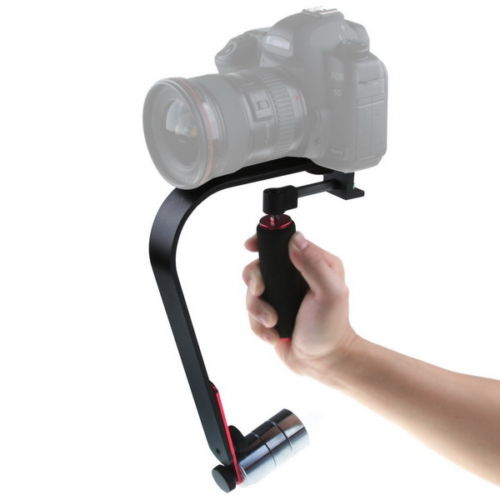 Tripé de Câmera Estabilizador de Vídeo Câmera do Telefone Portátil Profissional Steadycam Inteligente