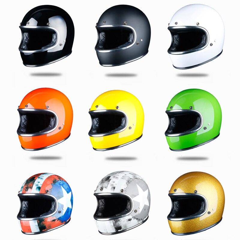 2019 volle gesicht moto rcycle helm retro casco de moto jet capacetes de moto ciclista off road thompson cascos para moto