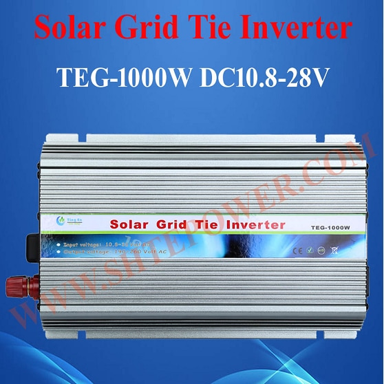 Best price DC 10.5-28V to AC 100V 110V 120V 220V 230V 240V Solar Grid Tie Inverter 1000W
