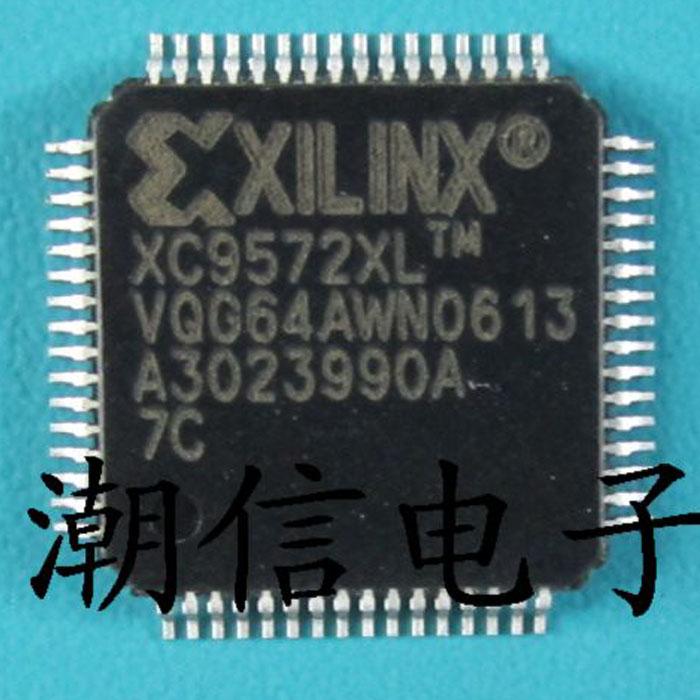 Free shipping   new100%   XC9572XL-7VQG64C   QFP-64