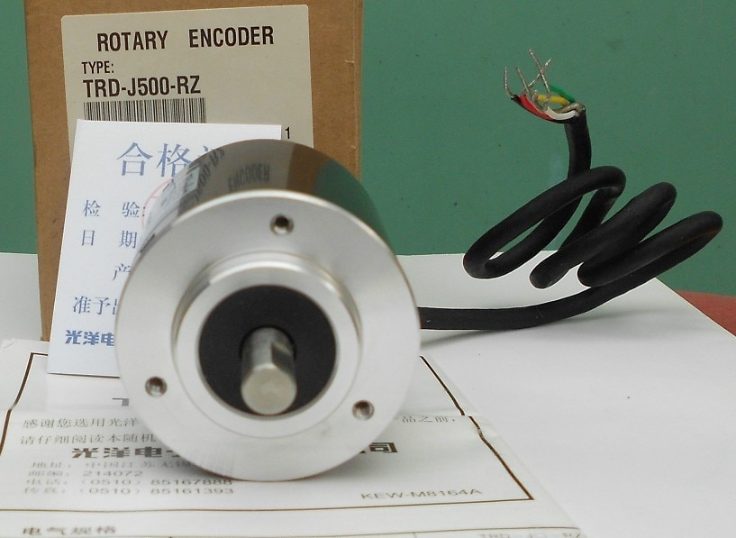 Freeship Koyo encoder TRD-J500-RZ codificador rotatorio incremental compacto genérico TRD-J500RZ garantía de 1 año