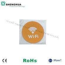 6 Stks/pak Hf ISO14443A Printable Herschrijfbare Lijm Nfc Sticker Met Chip N213 Smart Tag Security 13.56 Mhz Smart Rfid Label