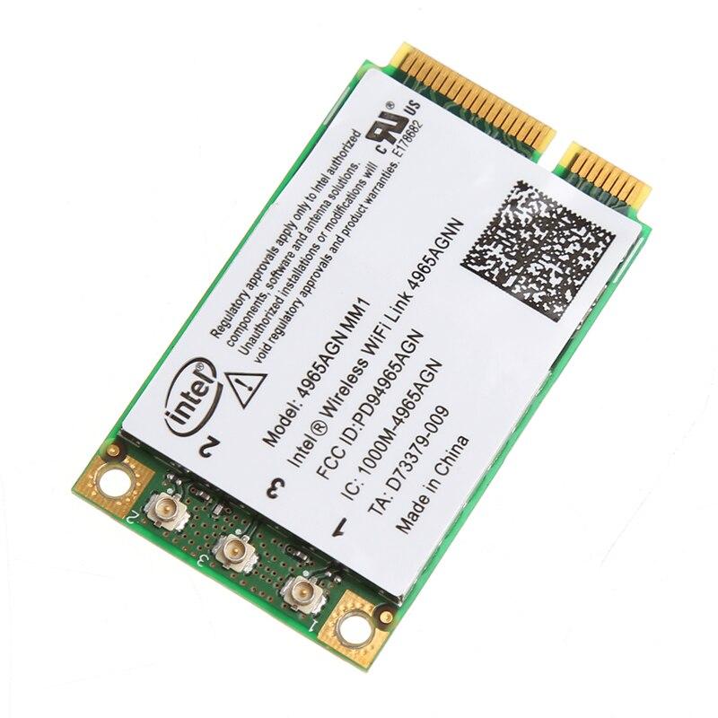 2020 nueva tarjeta inalámbrica de doble banda 300Mbps WiFi Link Mini PCI-E para 4965AGN NM1