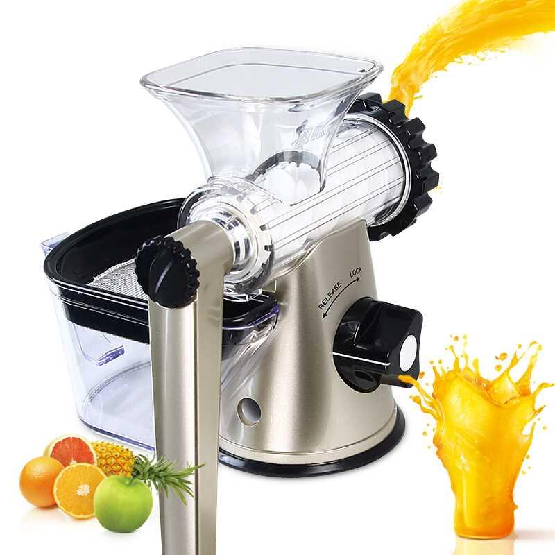 Household Fruit Juicer Wheatgrass Juice Maker Healthy Fruit Blender Machine