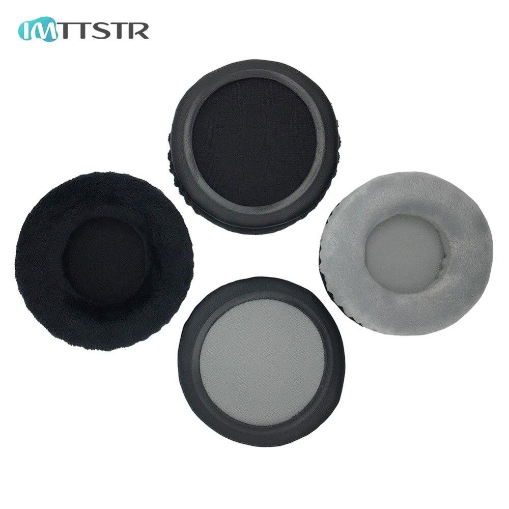 IMTTSTR 1 Pair of Velvet leather Ear Pads earpads earmuff Replacement for Behringer HPX4000 HPS5000 HPX-4000 HPS-5000 Headphones