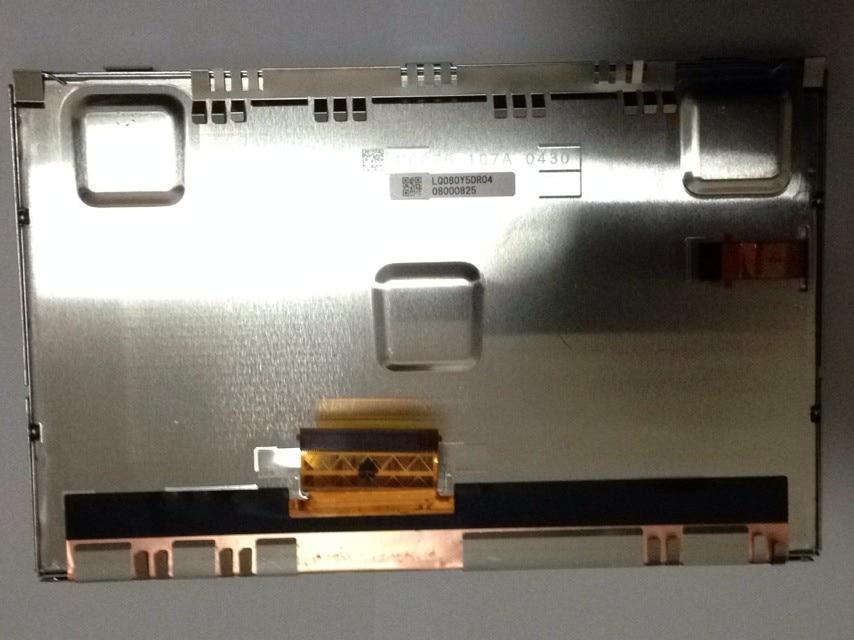 100% original LQ080Y5DR04 Mercedes ML350 S300 indústria de display LCD de tela encosto de cabeça
