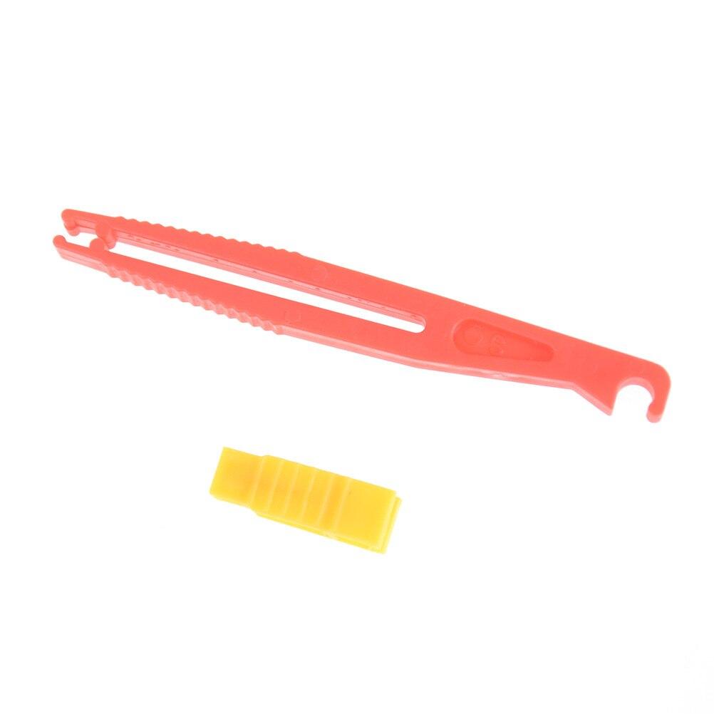 2 unids/set coche Auto Van hoja de plástico Mini fusible Extractor del automóvil del coche del fusible herramientas de clips Extractor de herramienta de seguridad Accesorios