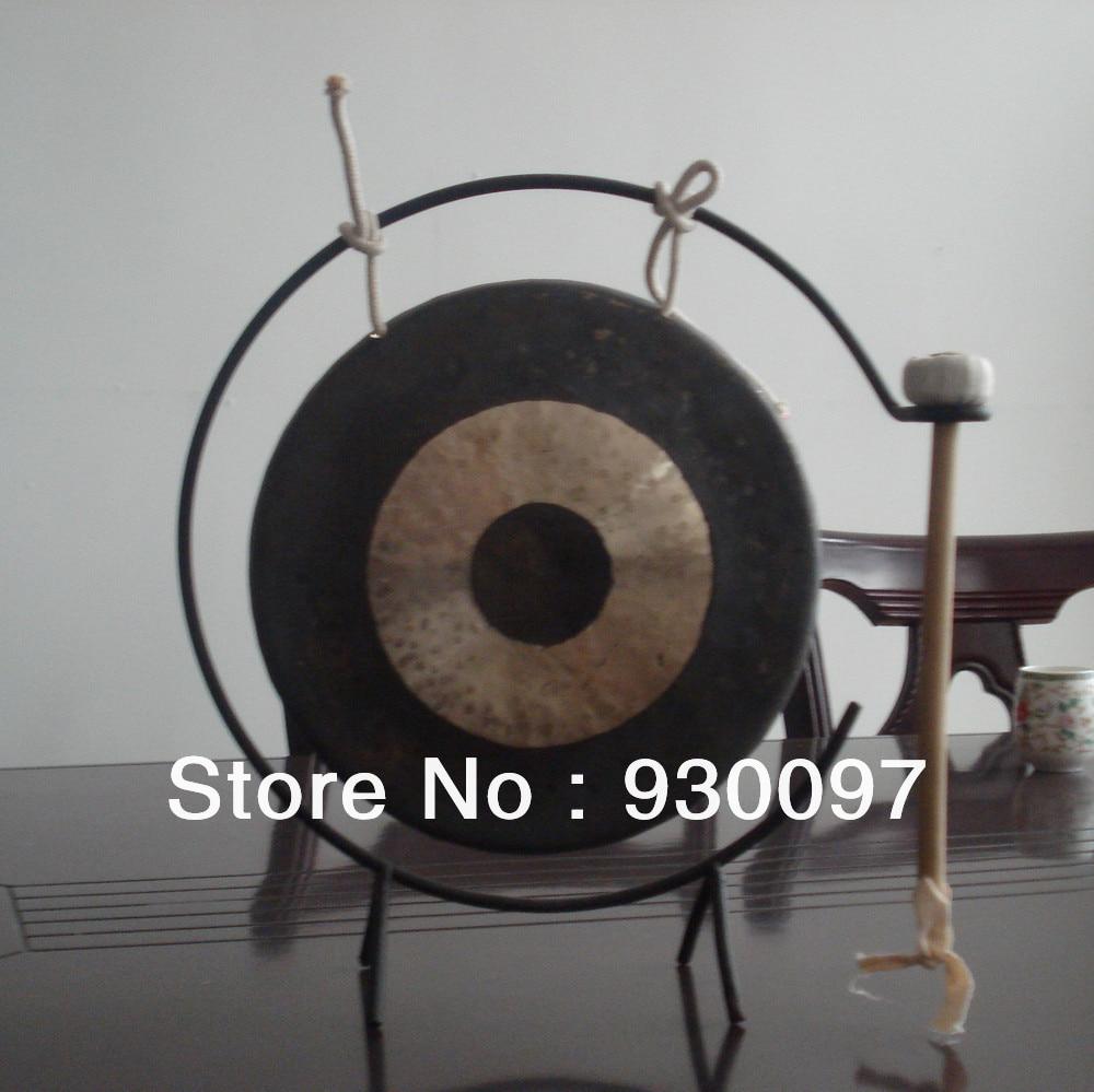 Petit chinois traditionnel 6 Chau Gong/15 cm tam tam gong