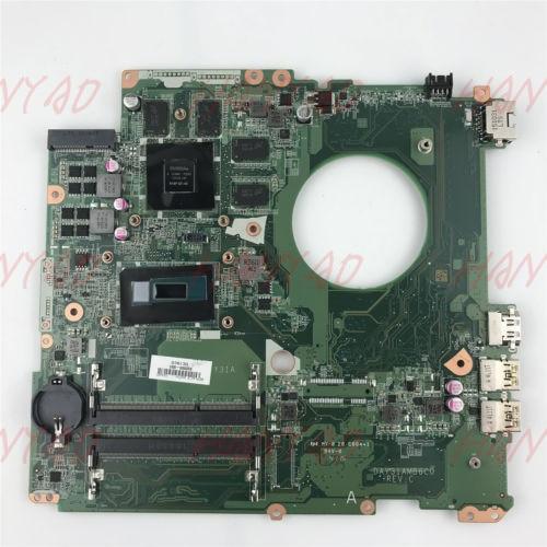832000-601 Para HP DAY31AMB6C0 17-K Series Laptop Motherboard Com CPU i7 GTX 850 M 4 GB