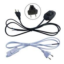 1,8 M LED Dimmer Schalter Kabel Licht Modulator Lampe Linie Dimmer Controller Für Tisch Lampe EU/Us-stecker 220V Strom draht