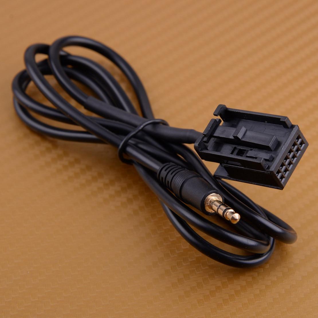 Beler 12 Cabo Adaptador De Entrada de pin 6000CD Chumbo estéreo Rádio CD30 MP3 Jack de 3.5mm AUX Interface de Ajuste para Opel CDC40 CD70 NAVI