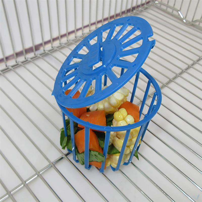 2 uds jaula alimentador de loro pájaro jaula loro mascota fruta soporte para vegetales jaula accesorios cesta colgante contenedor juguetes mascotas pájaro suministros