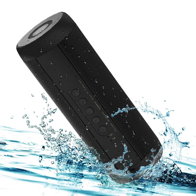 Altavoces Smarcent T2 inalámbricos Bluetooth, altavoz portátil impermeable al aire libre, Mini caja de columna, diseño de altavoz para iPhone Xiaomi