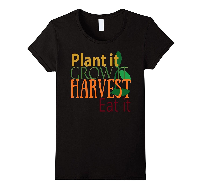 Master Gardener T Shirts - Plant it Grow it Harvest Eat it Fashion Brand Korean Kawaii T-Shirt Femme Lady New Summer