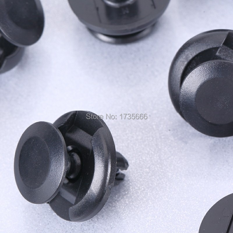 50 шт. защелки для крыла 90467-07164 для Toyota Camry Echo MR2 Corolla для Scion xA tC xB xD