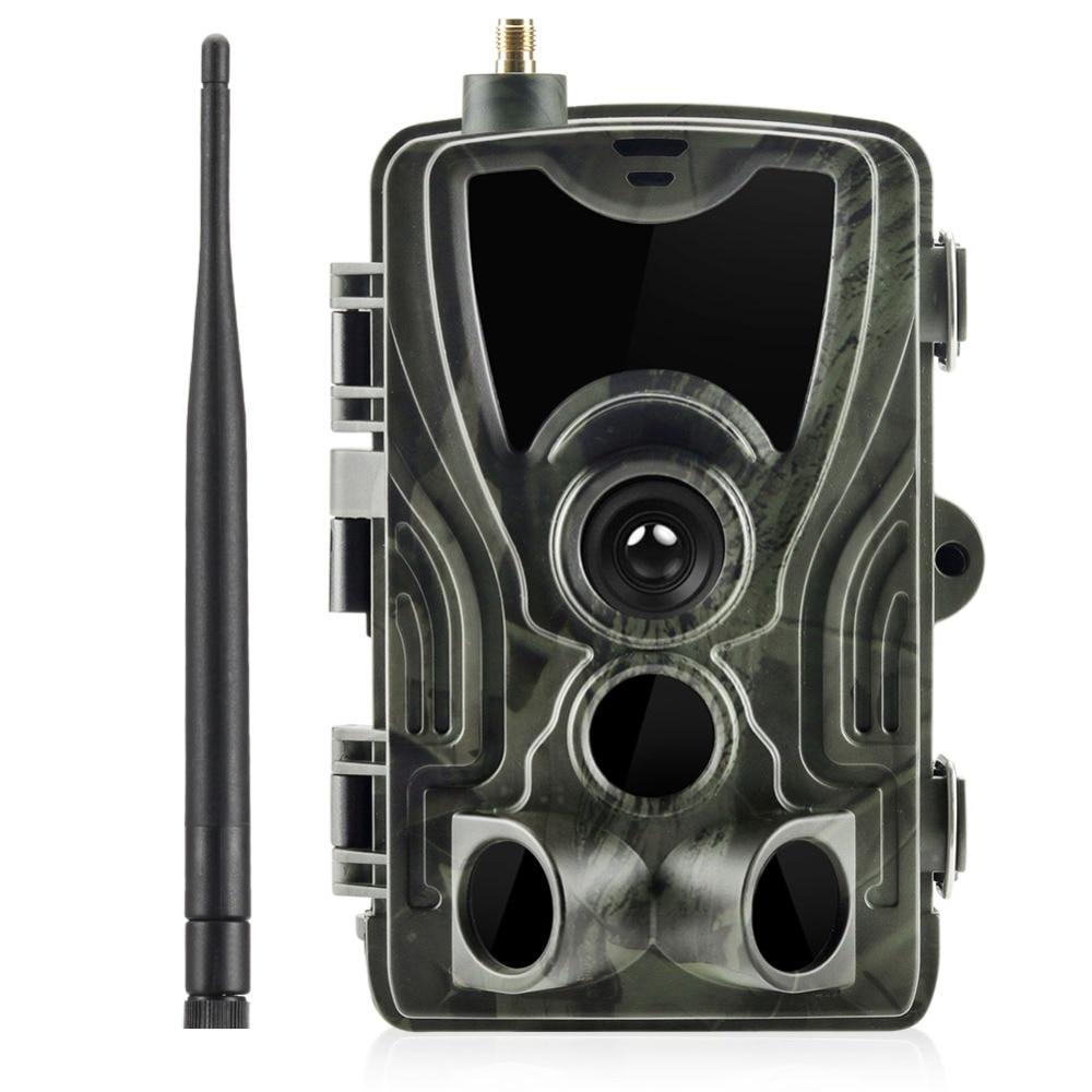 Trap Trail Hunting Camera Night Vision Suntekcam HC-801M 2G 16MP SMS/MMS/SMTP IP65 Photo Traps 0.3s Trigger Time Wild Cameras недорого