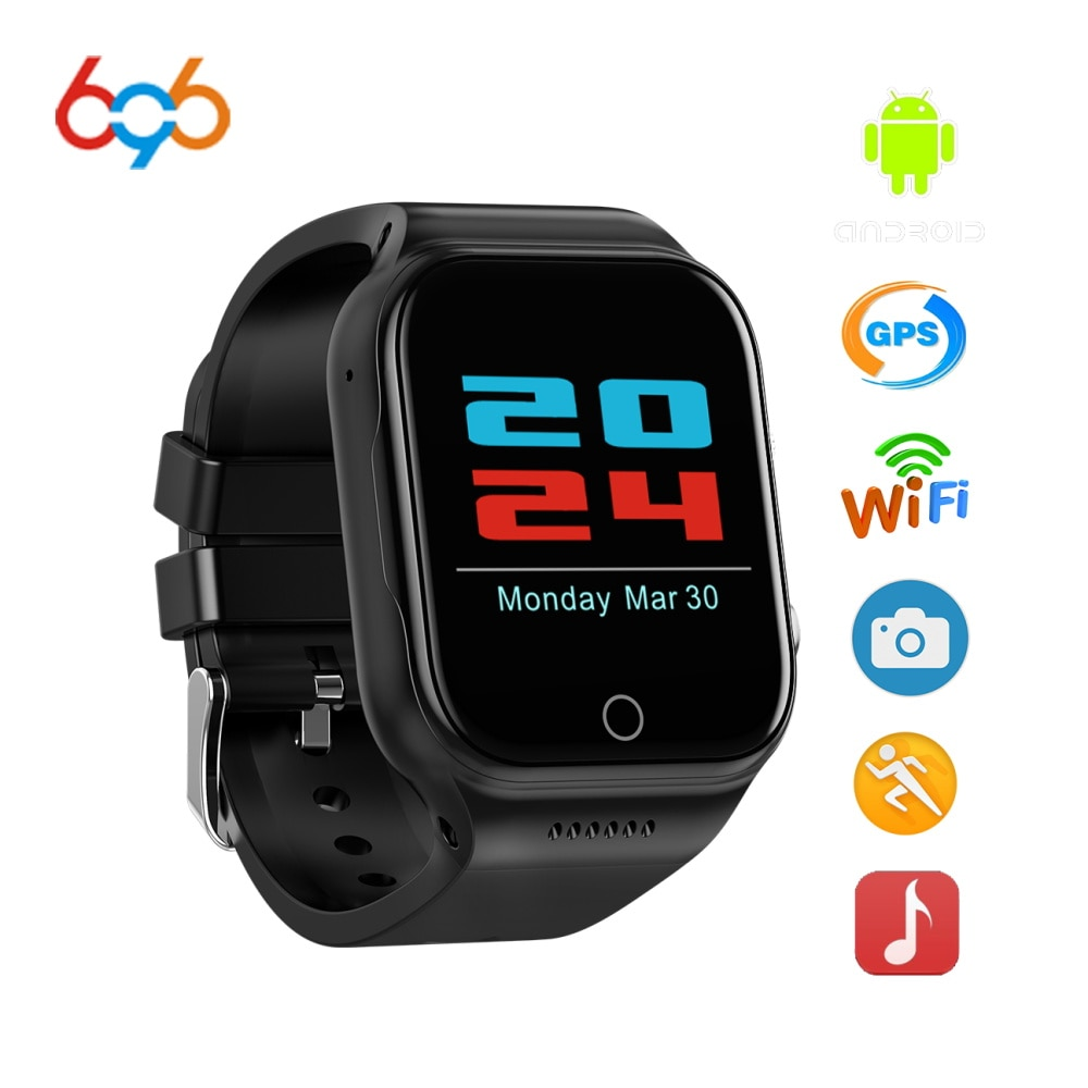 Reloj inteligente 696 X89 1,54 pulgadas android 5,1 MTK6580 Quad Core Bluetooth electrónica 3g SmartWatch con batería 600MA GPS Wifi reloj