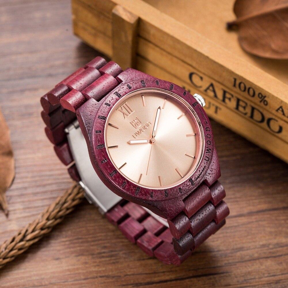 Relojes de moda para hombre, reloj de pulsera de madera preciosa de estilo retro, reloj de lujo para hombre, reloj de madera natural, reloj Relogio.