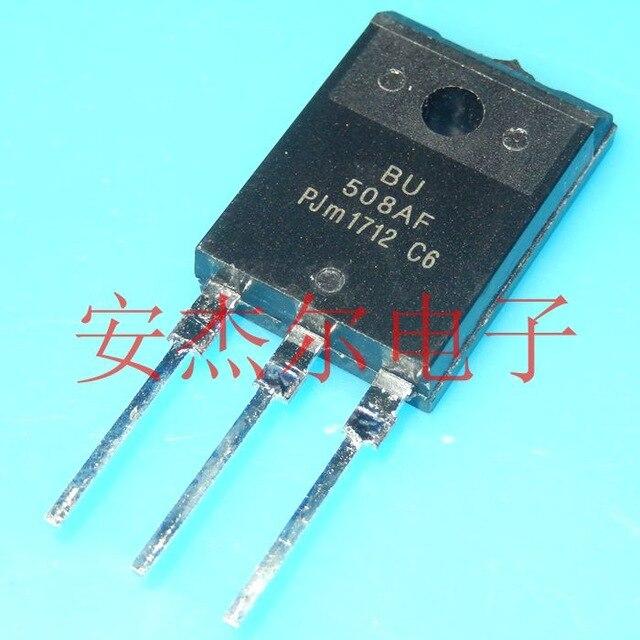 5 unids/lote BU508AF BU508 TO-3PF nuevo original en Stock