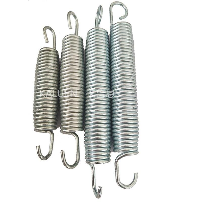 Оптовая продажа, высококачественные стальные металлические материалы, Детские банджи, батуты, пружины