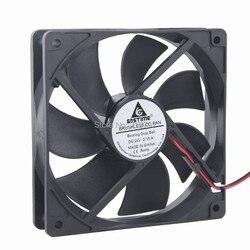 2 peças/lote Gdstime 120x120x25mm Rolamento De Esferas Computador 120mm 24 v 2Pin DC Ventilador Refrigerador