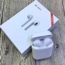 I10 최대 무선 블루투스 i10 최대 tws i10 tws 이어폰 이어폰 헤드셋 애플 아이폰 안드로이드에 대한 충전 박스