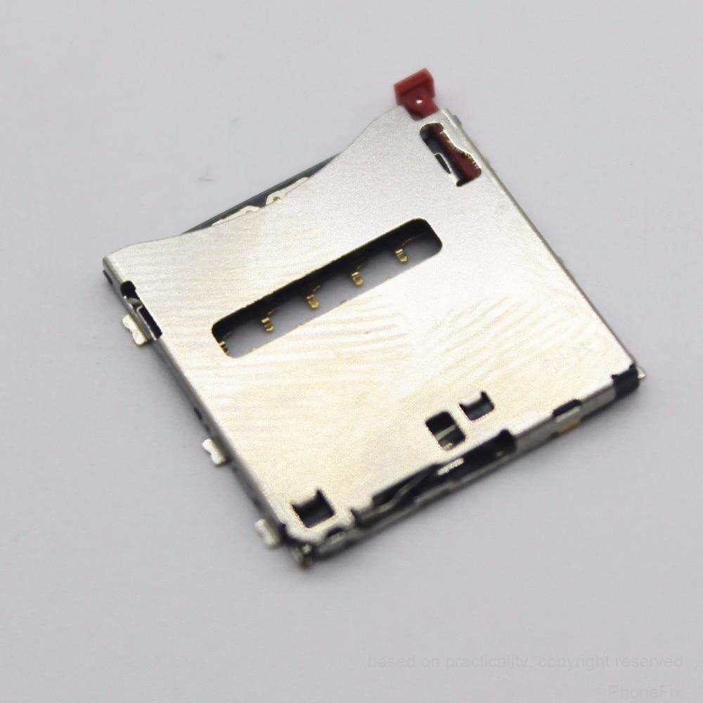 Tomada Bandeja Titular Leitor de Cartões Sim Para Sony Z1 L39h LT39i Z Ultra XL39H C6802 C6833 C6902 C6903 Z1 Compact D5503 M51W