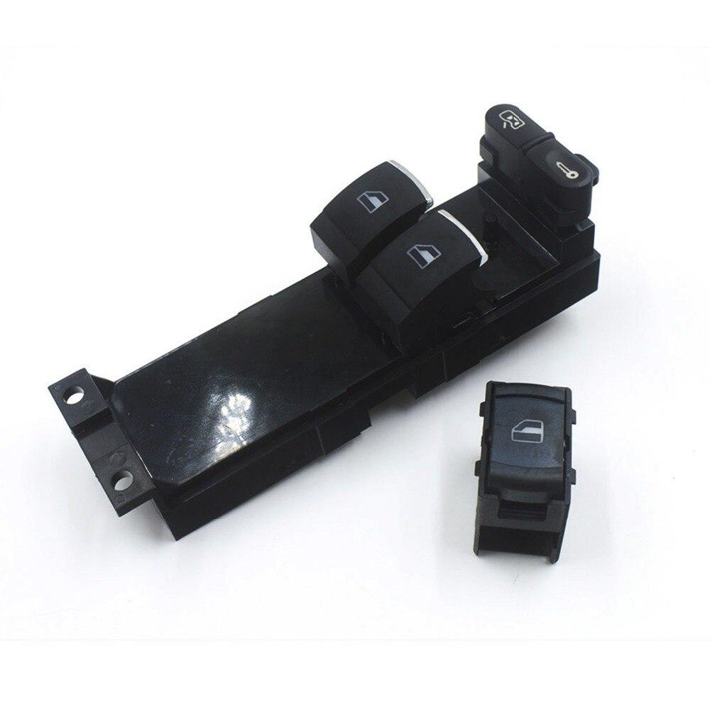Botón de Control del interruptor lateral del pasajero principal para SKODA OCTAVIA VW PASSAT B5 Bora Golf Mk4 OE #3B0 959 855, 1J3 959 857B
