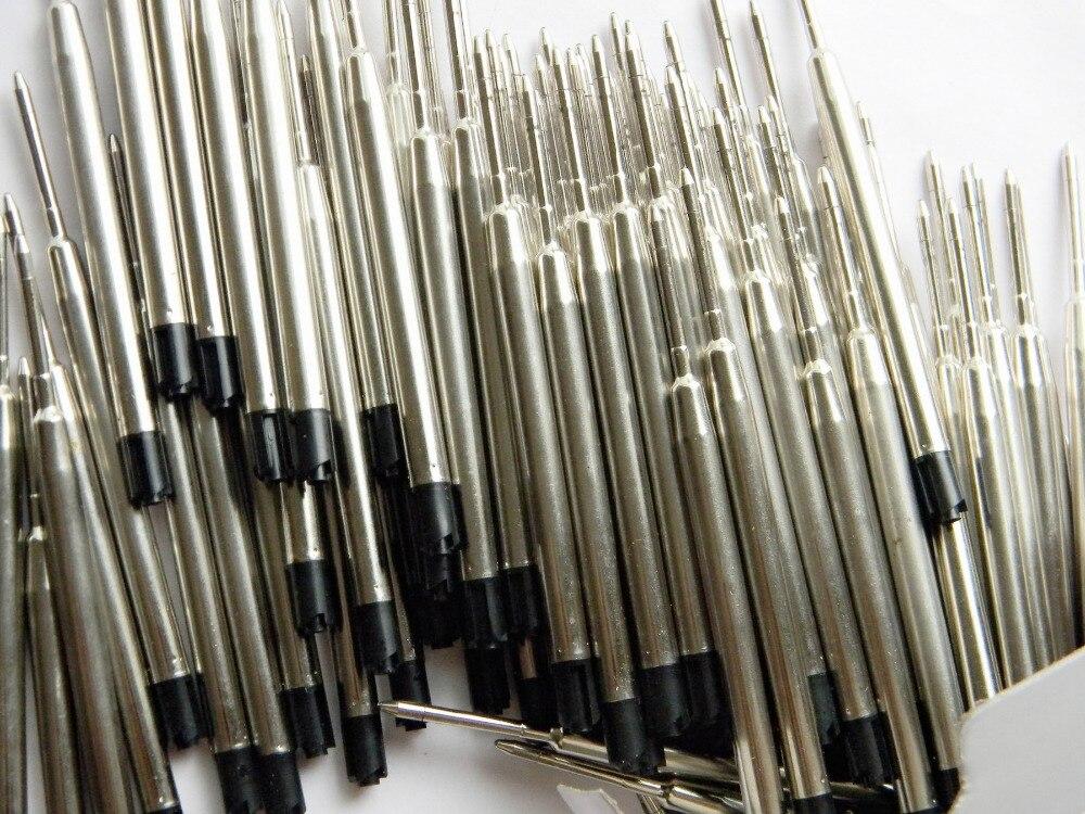 100pcs Black pcs  Ballpoint Pen Refill  Stationery School & Writing Wholesale Pen refillS