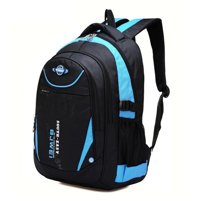 Детский рюкзак BAIJIAWEI вместительный Водонепроницаемый Школьный для мальчиков и