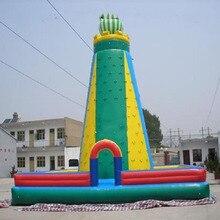 Mur descalade gonflable personnalisable offre spéciale/mur descalade gonflable pour enfants