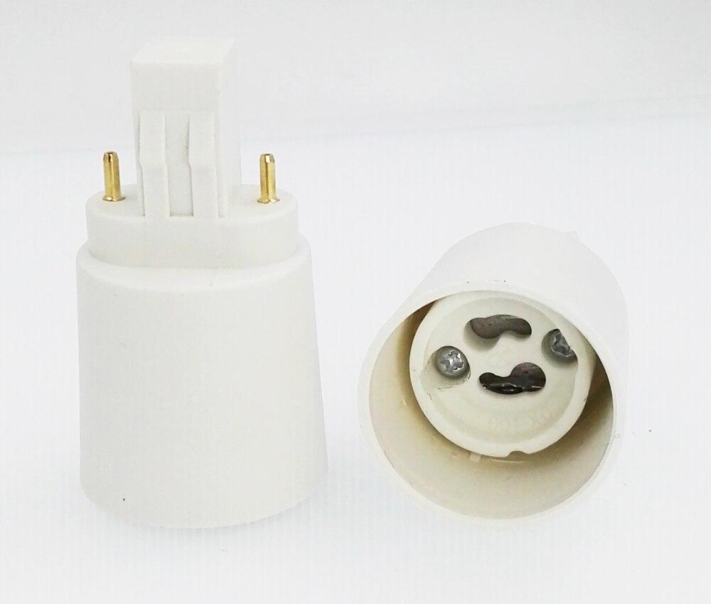4 pçs gx23 para gu10 conversor de base da lâmpada gx23 para gu10 adaptador de base da lâmpada 2 p cfl GX23-2 adaptador de soquete de luz