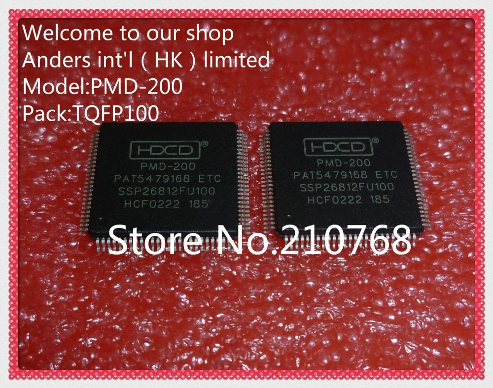Hot lager PMD-200 PAT5479168 SSP26812FU100 HDCD QFP100