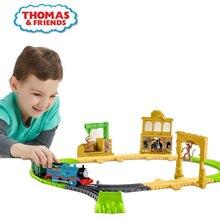 Thomas et ses amis Diecasts jouets véhicules électriques Master série singe royaume aventure ensemble petit Train piste jouet pour enfants