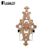 RUNBAZEF Aotu-décoration de maison Vintage   Accessoires de décoration coin de meuble, Figurine Miniature en bois artisanal, Globe dornements