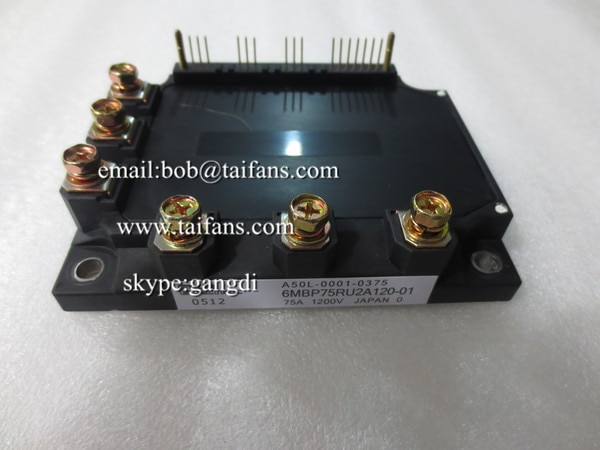 Original novo módulo IGBT 6MBP75RU2A120-50