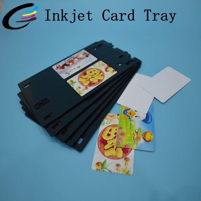 Jato de tinta PVC ID Card Bandeja Para Canon MG5420 MG7120 J Bandeja