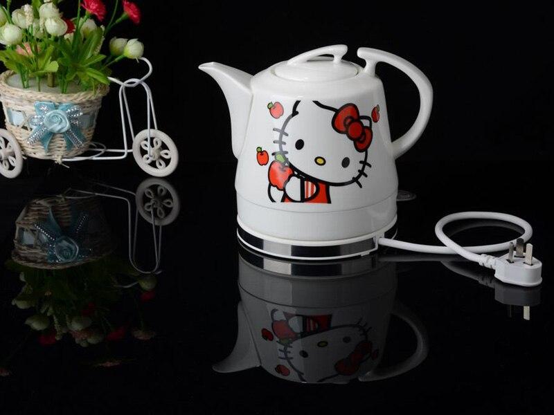Модный дизайн много цветов керамический электрический чайник автоматический