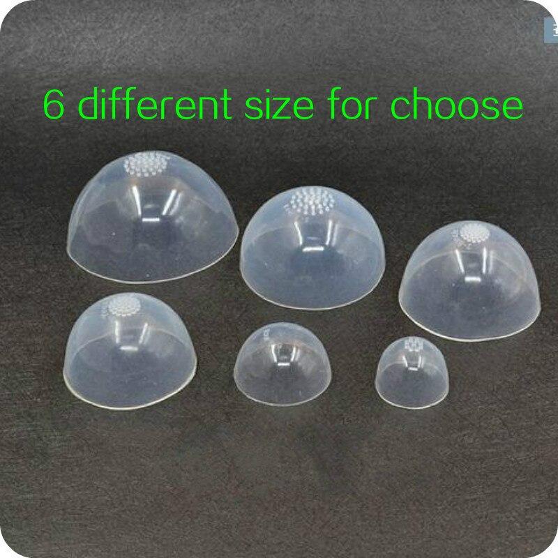 1/3 1/4 1/6 1/12 BJD cabeza de silicona para muñeca BJD Gel de sílice pelucas cubierta 6 tamaños a elegir