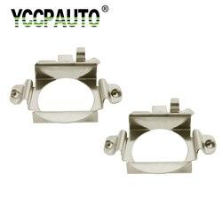 2 pçs h7 led farol lâmpadas adaptador base titular soquete base para ford edge farol lâmpada preto base de luz chip para mercedes-benz-ben z